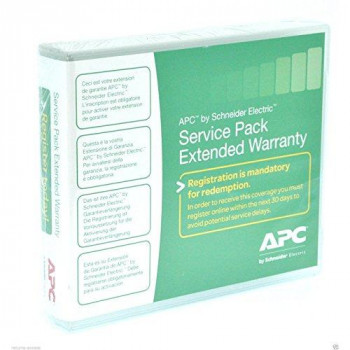 APC Service Pack Extended 3 Year Warranty WBEXTWAR3YR-SP-04
