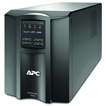 APC Smart-UPS SMT-SmartConnect - SMT1000IC - Uninterruptible Power Supply 1000VA (Cloud enabled, 8 Outlets IEC-C13) Black