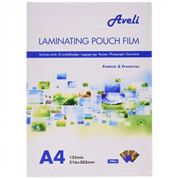 GBC Laminating Pouches Premium Quality 250 Micron for A4 - Ref 3200723 (Pack 100)