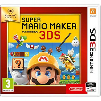 Nintendo Selects - Super Mario Maker (Nintendo 3DS)
