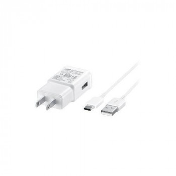 Samsung USB-C Adaptive Fast Charging UK Travel Adapter (White)