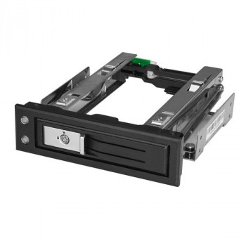 "5.25 to 3.5 Hard Drive Hot Swap Bay - Trayless - For 3.5"" SATA/SAS Drives - Front Mount - Hard Drive Bay - SAS/ SATA Backplane"