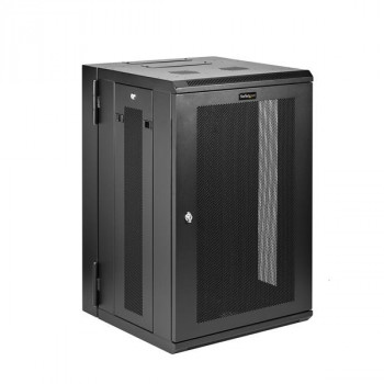 StarTech.com Wall Mount Server Rack Cabinet - Hinged Enclosure - Wall Mount Network Cabinet - 20 in. Deep - 18U