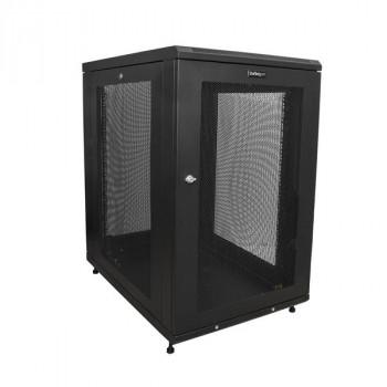 StarTech.com Server Rack Cabinet - 18U - 31in Deep Enclosure - Network Cabinet - Rack Enclosure Server Cabinet - Data Cabinet