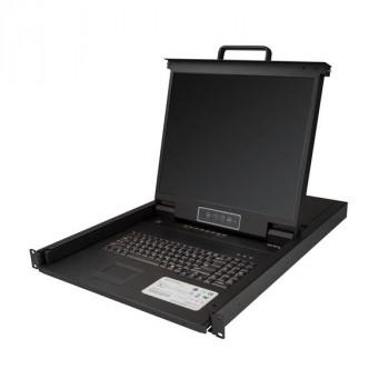 StarTech.com 8 Port Rackmount KVM Console for Server Rack - VGA KVM - 19 in - 1U