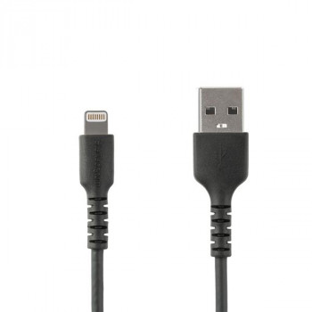StarTech.com 1m USB to Lightning Cable - MFi Certified Lightning Cable - Heavy Duty Lightning Cable - Durable Lightning Cable
