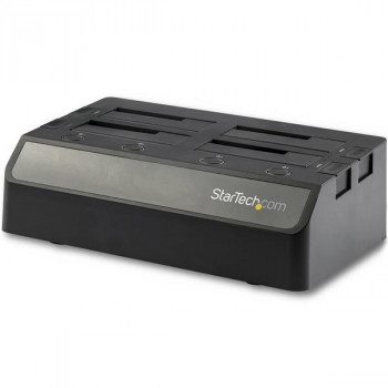 StarTech.com 4 Bay SATA HDD Docking Station - For 2.5 / 3.5in SSD / HDDs - USB 3.1 (10Gbps) - USB-C / USB-A - SSD / Hard Drive Dock
