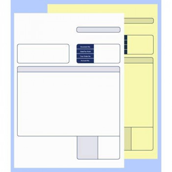 Sage 2 Part Collated Compatible Invoice (Pack of 500)
