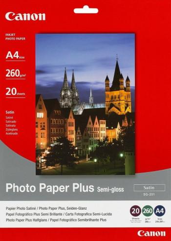 Canon Photo Paper Plus SG-201 Photo Paper